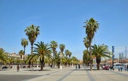 Huvudstad av Catalonia Barcelona Royaltyfri Foto