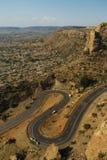 Huvudstad av Lesotho Royaltyfri Bild