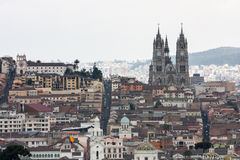 Huvudstad av Quito Ecuador Fotografering för Bildbyråer