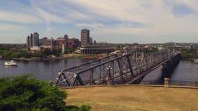 Huvudstad för Kanada ` s av Ottawa på en solig dag stock video