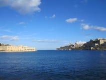 huvudstad malta s valletta fotografering för bildbyråer