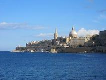 huvudstad malta s valletta arkivfoton