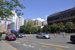 Huvudväg Arkivbild
