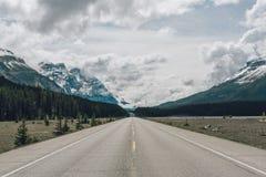 1 huvudväg Arkivbild