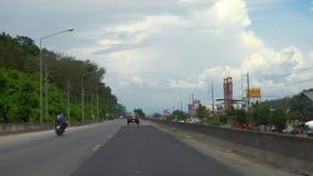 Huvudväg av den Phuket ön arkivfilmer