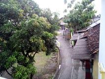 Huvudväg byn Royaltyfri Fotografi