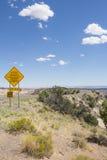 Huvudväg 12 den en Miljon-dollar vägen från stenblocket till Escalant Utah Royaltyfri Foto