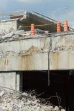 huvudväg för 6 kollaps Arkivbilder