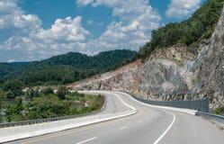 Huvudväg för Appalachian berg Royaltyfri Fotografi
