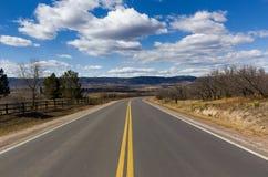 huvudväg för 2 gränd Arkivfoton