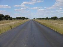 Huvudväg för trans. kalahari Royaltyfri Bild