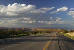 huvudväg interstate sydliga utah Fotografering för Bildbyråer