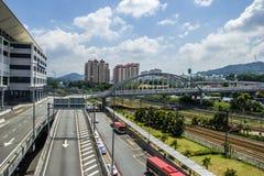 huvudväg Kuala Lumpur Arkivfoton