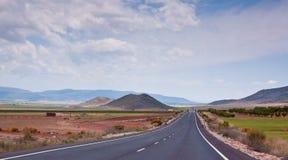 huvudväg som receding royaltyfri fotografi