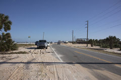 A1A-huvudväg till Marineland Royaltyfri Bild