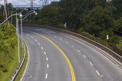 Huvudväg & trafik Royaltyfria Bilder