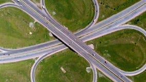 Huvudväg utbyte Flyg- skytte arkivfilmer