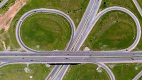 Huvudväg utbyte Flyg- skytte lager videofilmer