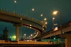 huvudvägar tokyo Fotografering för Bildbyråer