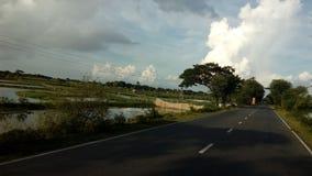 Huvudvägen royaltyfria foton