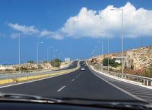Huvudvägen till himmel royaltyfria bilder