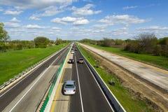 Huvudvägkonstruktion Arkivfoto