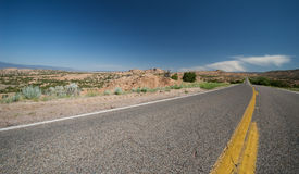 huvudvägmexico ny remote Arkivbild