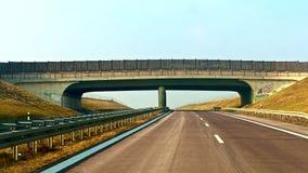 huvudvägoverpass Arkivfoto