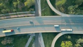 Huvudvägtrafik lager videofilmer