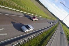 huvudvägtrafik Royaltyfria Bilder