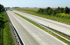 Huvudvägtrafik Royaltyfri Bild