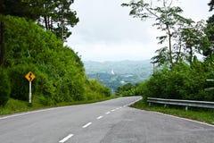 huvudvägväg Royaltyfria Bilder