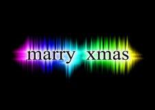 Huw Kerstmis Royalty-vrije Stock Afbeeldingen