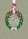 Huw Kerstmis Stock Foto