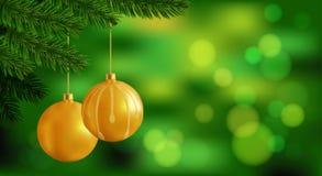Huw Kerstmisachtergrond Stock Foto's