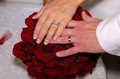 Huwelijk 18 stock foto
