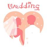 Huwelijk royalty-vrije illustratie