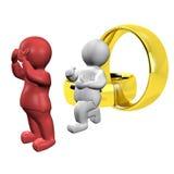 Huwelijk aanbieding-3 Stock Afbeelding