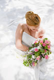 Huwelijk - bruid Stock Foto