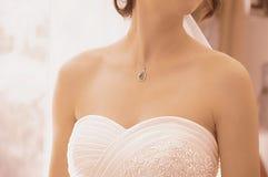 Huwelijk-bruid Stock Fotografie