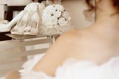 Huwelijk-bruid Stock Afbeeldingen