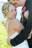 Huwelijk - Bruid en Bruidegom stock foto