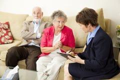 Huwelijk Counselng - kunt u ons helpen Stock Foto