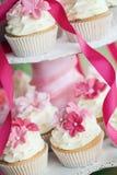 Huwelijk cupcakes royalty-vrije stock fotografie