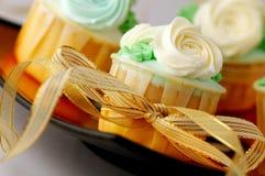 Huwelijk cupcakes Royalty-vrije Stock Afbeelding