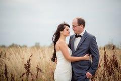 Huwelijk en liefdeverhaal in aard Royalty-vrije Stock Afbeeldingen