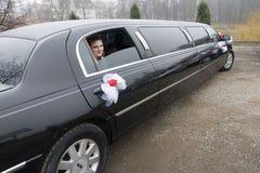 Huwelijk Limousin royalty-vrije stock afbeelding
