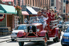 Huwelijk in Loodglans, Illinois Royalty-vrije Stock Foto's