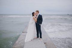 Huwelijk in Odessa; Stock Foto