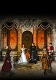Huwelijk op Fantasieland Stock Afbeelding